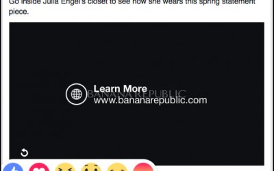 How to react to Facebook's new reactions