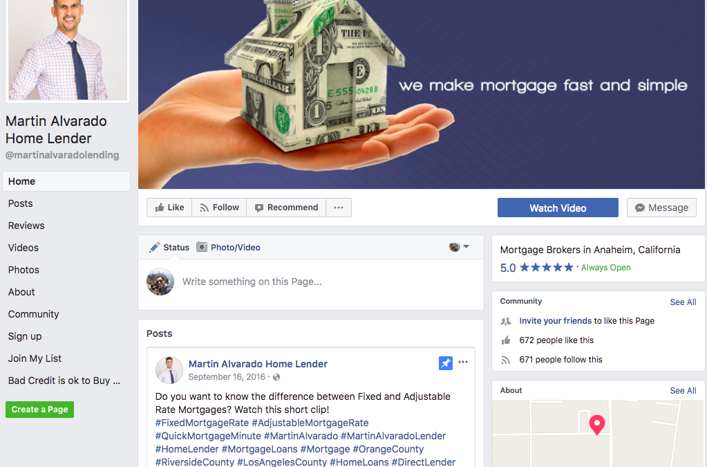 Using Spanish Facebook ads to drive mortgage leads