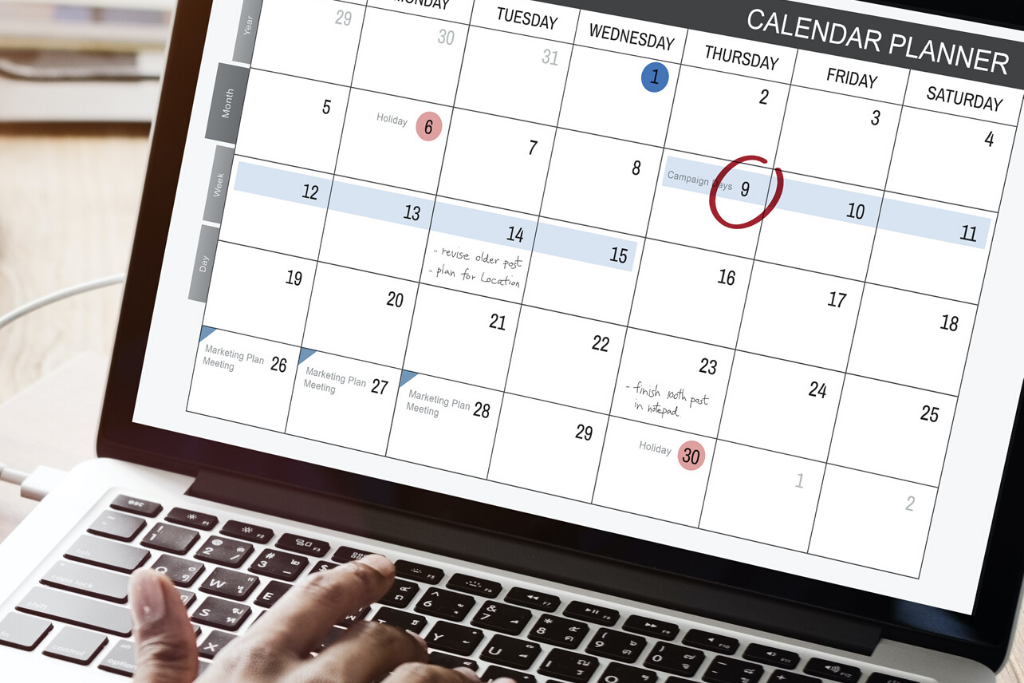 The Ins and Outs of an Editorial Calendar