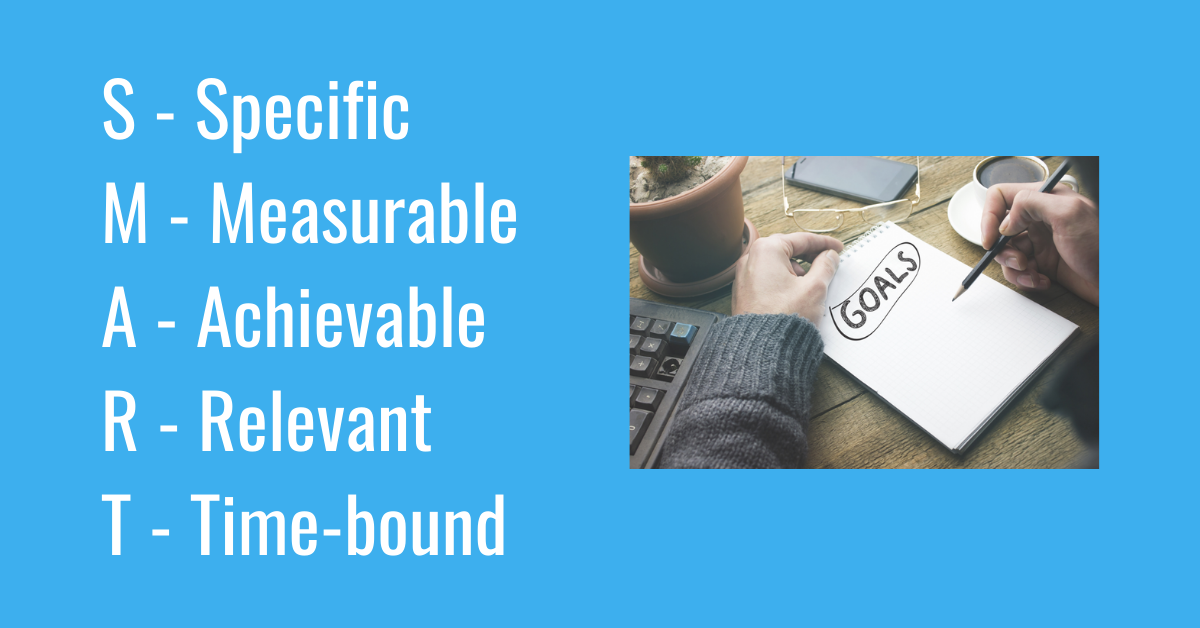 SMART Goals, Specific, Measurable, Achievable, Relevant, Time-bound