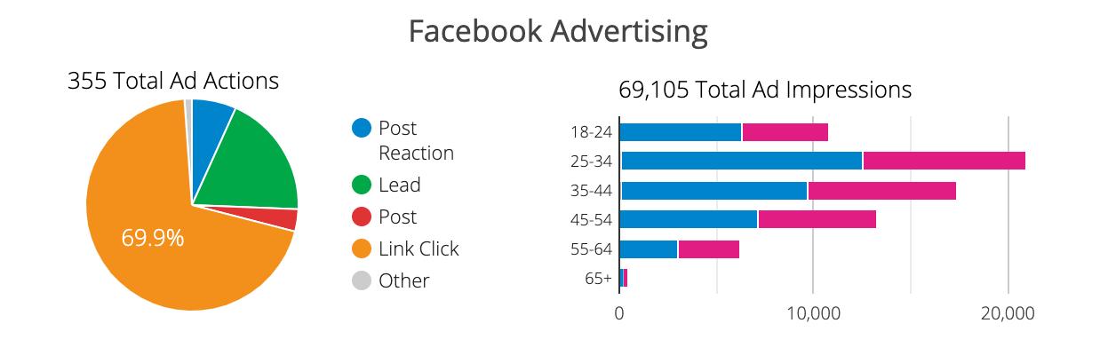 Facebook Advertisement Impressions