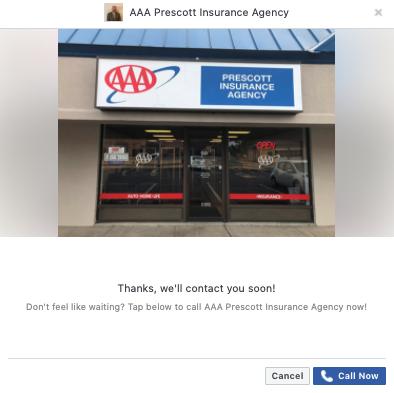 Facebook lead, insurance agency, marketing