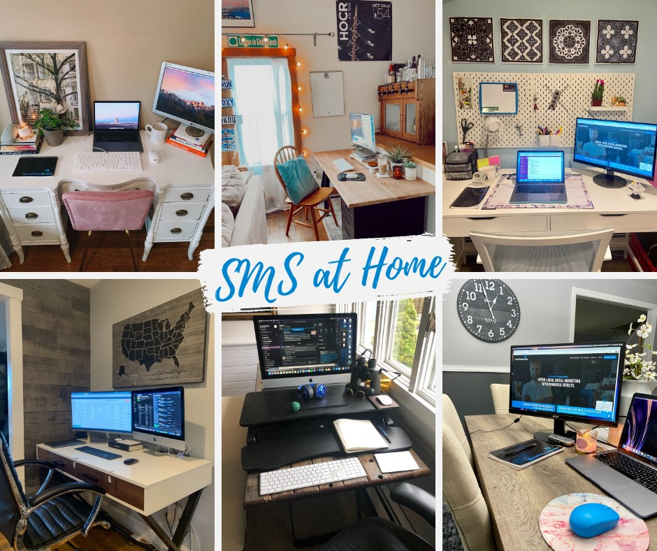 SMS At Home, office, home office