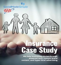 Insurance Company Generates 34 LeadsPer Month and Grows Facebook Audience By 197%