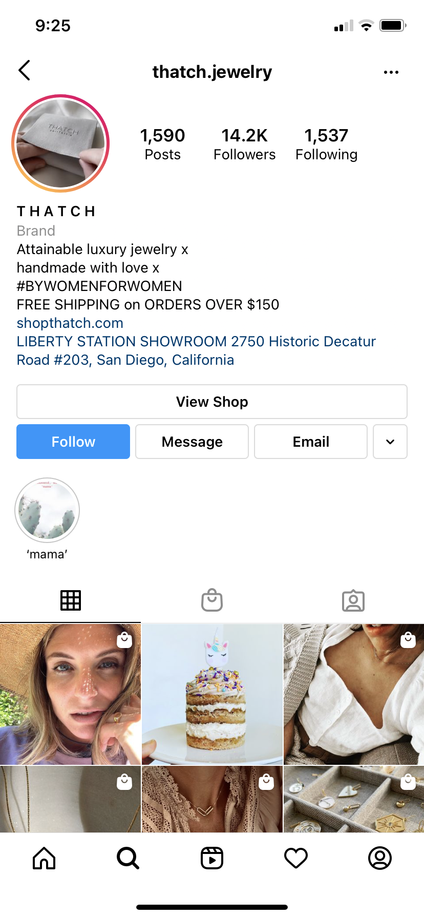 luxury jewelry e-commerce advertising