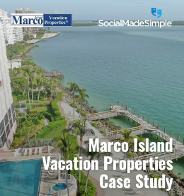Vacation Properties Rental Business Generates Over 17,400 Website Visits Per Year Using Paid Social Advertising