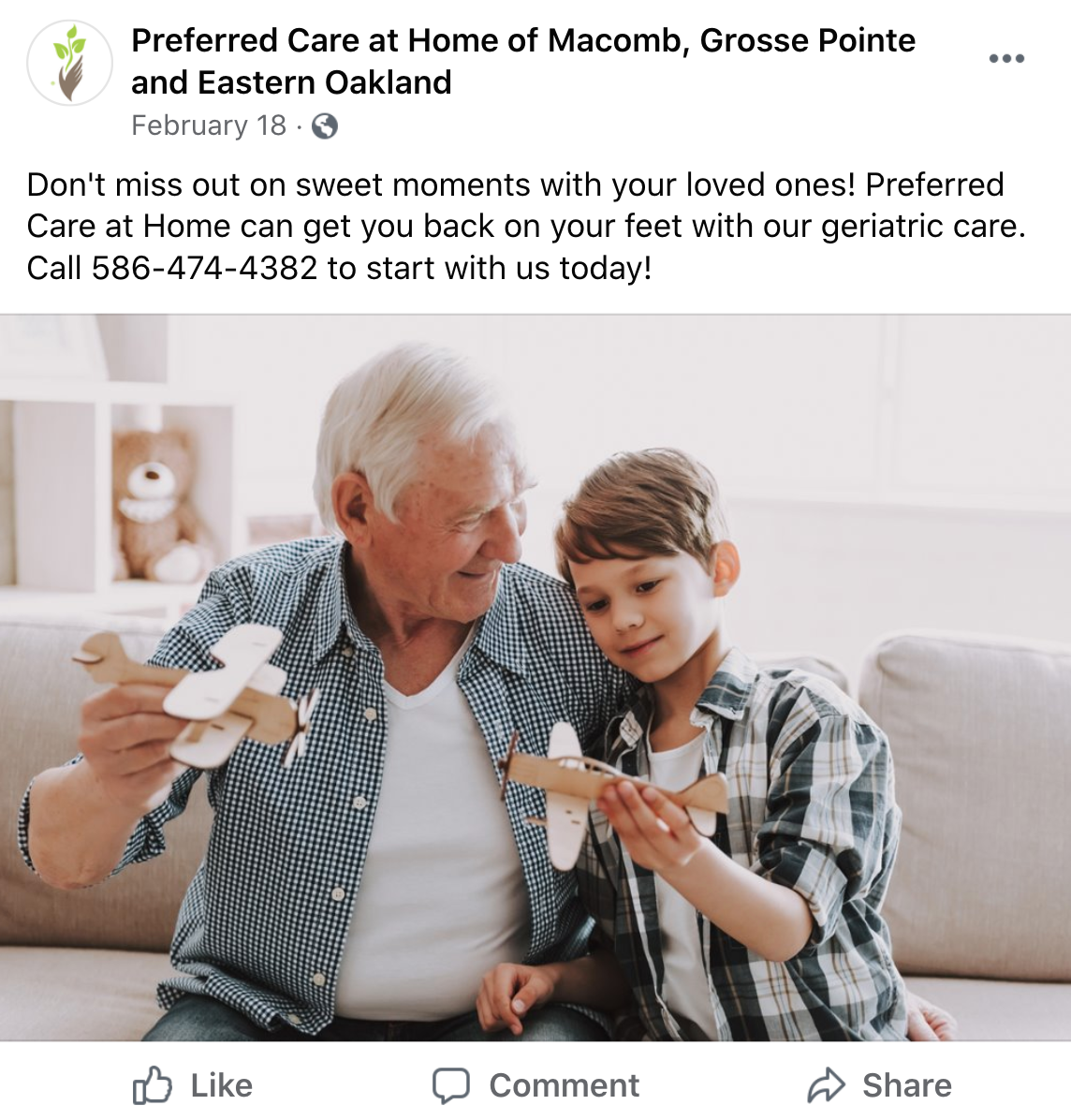 Senior Care Facility Uses Hyper-Targeted Social Marketing to Recruit Caregivers at 112 Leads/mo. & Generate 300 Client Leads/yr.